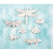Shabby Chic Resin Treasures - Bugs