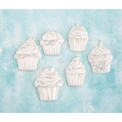 Shabby Chic Resin Treasures - Cupcakes