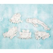 Shabby Chic Resin Treasures - Frogs