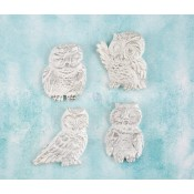 Shabby Chic Resin Treasures - Owls