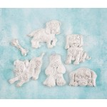 Shabby Chic Resin Treasures - Puppies