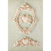 Shabby Chic Resin Treasures - La Coeur