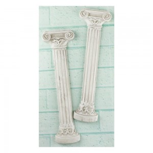 Shabby Chic Resin Treasures Roman Columns