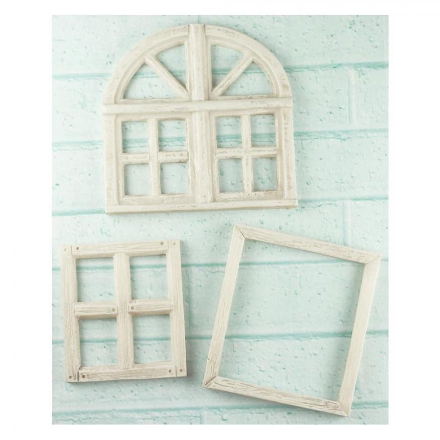 Shabby Chic Resin Treasures - Window Frame
