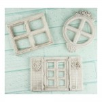 Shabby Chic Resin Treasures - Mini Windows