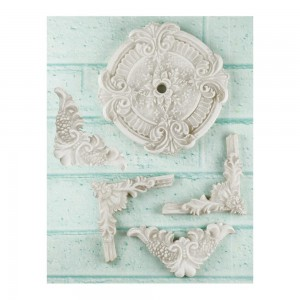 Shabby Chic Resin Treasures Ceiling Ornaments