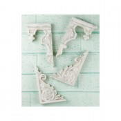 Shabby Chic Resin Treasures Stair Ornaments