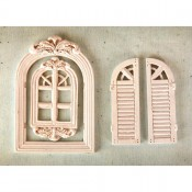 Shabby Chic Resin Treasures - Windows III
