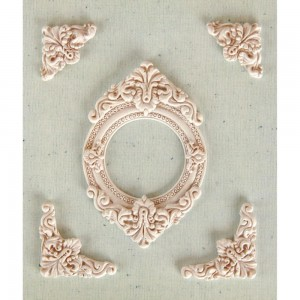 Shabby Chic Resin Treasures - Marville