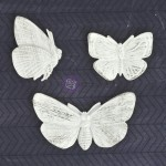 Shabby Chic Resin Treasures - Butterflies