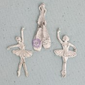Shabby Chic Resin Treasures - Ballerina
