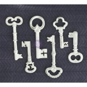 Shabby Chic Resin Treasures - Keys
