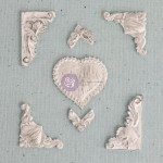 Shabby Chic Resin Treasures - Heart