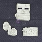 Shabby Chic Resin Treasures - Cameras