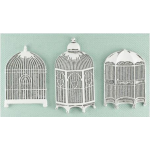 Shabby Chic Metal Treasures - Bird Cages