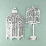 Shabby Chic Metal Treasures Hutches