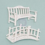 Shabby Chic Resin Treasures Garden Fittings