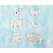 Shabby Chic Resin Treasures - Reptiles