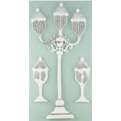 Shabby Chic Metal Treasures - Street Lamps