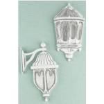 Shabby Chic Metal Treasures - Outdoor Wall Lamps