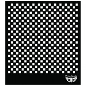 Designer Stencil - Sunrise Sunset - Checker - 6x6