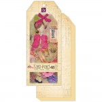 Mixed Media Doll Tag Pad