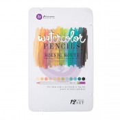 (Pre-Order) Mixed Media Watercolor Pencils 12/Pkg - Scenic Route
