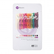 (Pre-Order) Mixed Media Watercolor Pencils 12/Pkg - Spring & Fall