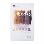 (Pre-Order) Mixed Media Watercolor Pencils 12/Pkg - Earth Tones