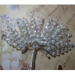 Clear Acrylic Wheat Leaves Spray