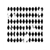 Doodling Templates - Mini Harlequin - 6x6