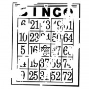 Doodling Templates - Mini Bingo - 6x6