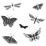 Doodling Templates - Mini Mariposas - 6x6