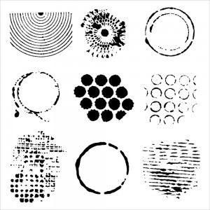 Doodling Templates - Well Rounded - 6x6