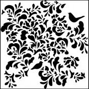 Doodling Templates - Mini Paradise - 6x6