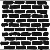 Doodling Templates - Mini Bricks - 6x6