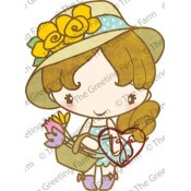 Garden Anya Stamp