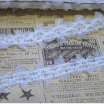Shimmery Double Edged Organza Trim - 1yd