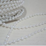 Med. Round Pearl Trim (4mm) - 4yds