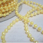 Med. Round Pearl Trim (4mm) - 24yds