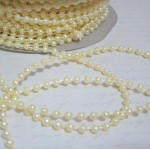 Sm. Round Pearl Trim (3mm) - 4yds