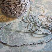 Brown/White Bakers Twine - 5yds