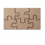 Designer Embellies - Puzzle - Chipboard 2 Pack